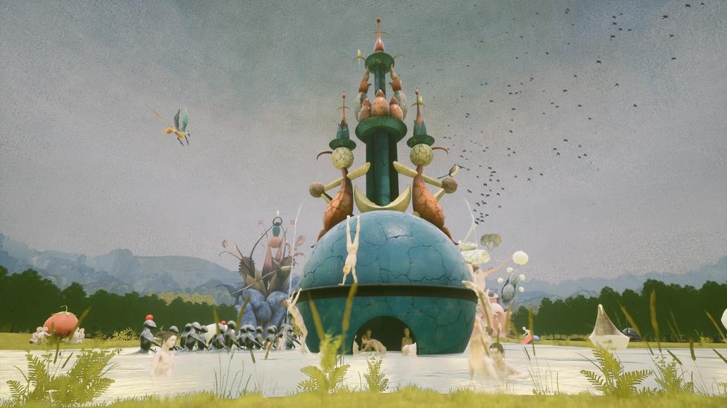 Innerhalb der Experience erfährst du mehr über die religiöse Thematik des Gemäldes