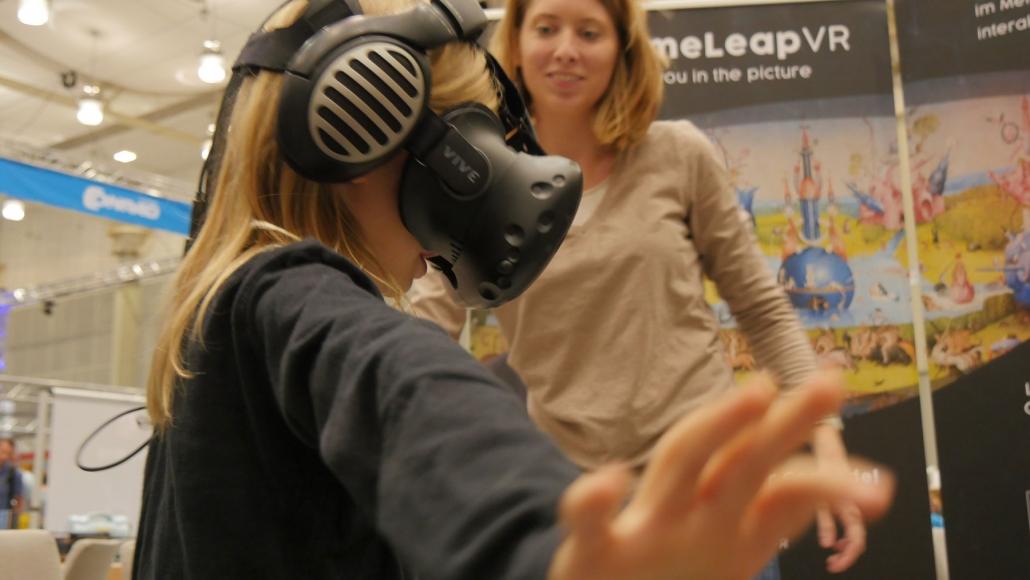 Begeisterte Kinder auf der Maker Faire Hannover_1