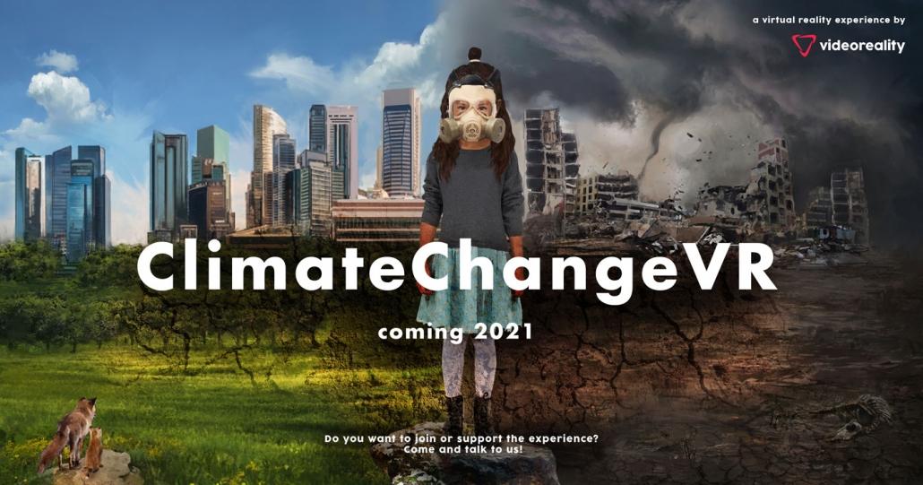 ClimateChangeVR-- Announcement Poster